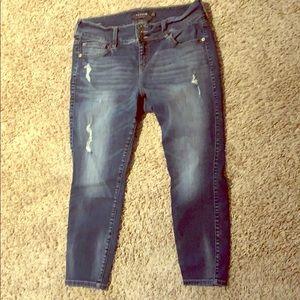 Torrid Jeans XS length